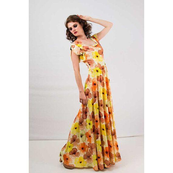 1940s floral dresses cheap