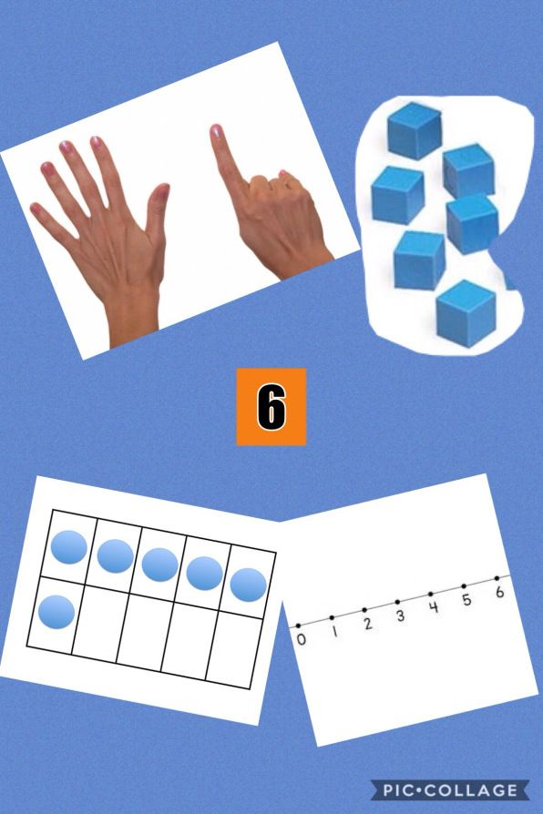 Number Representation App Smashing with PicCollage – PicCollage