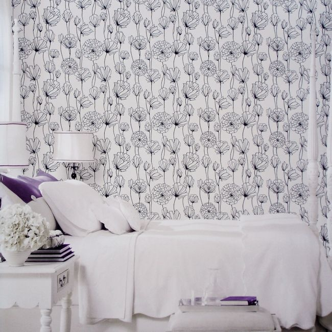 Black & White Collection by Vision BW28740.  Wallpapershop / Murrays Interiors