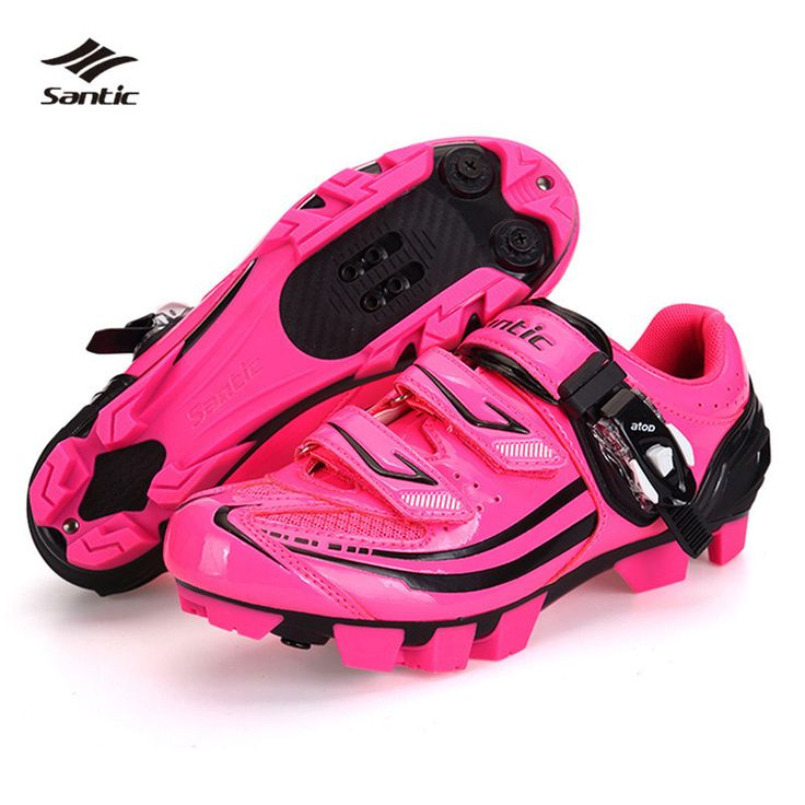 SANTIC Women Outdoor Cycling Self-locking Shoes Breathable Microfiber Mesh MTB Bicycle Road Bike Ultralight Ciclismo Shoes!