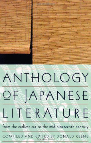 Anthology of Japanese Literature: From the Earliest Era t... https://smile.amazon.com/dp/0802150586/ref=cm_sw_r_pi_dp_x_jFqFybBE9SRZZ