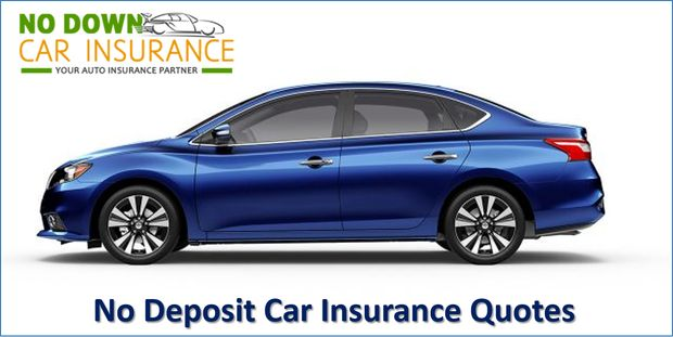 The auto insurance for people with no deposit provide an excellent opportunity for first timers to invest in a policy by ensuring timely repayment. Even people with no deposit can rebuild their credit history by not defaulting on the repayment of their car insurance with no deposit.