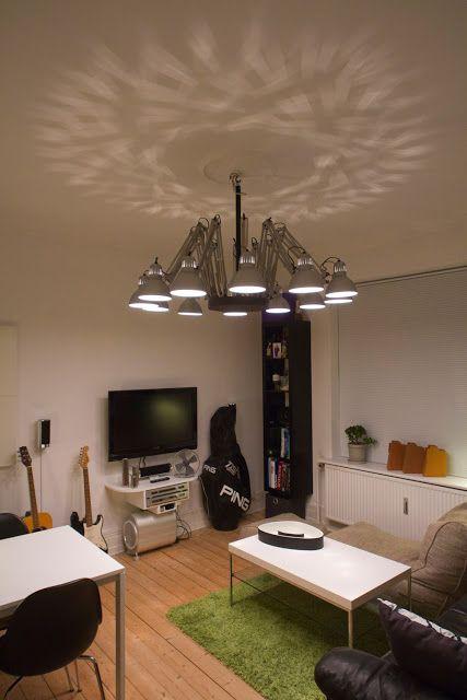 A TERTIAL chandelier - IKEA Hackers