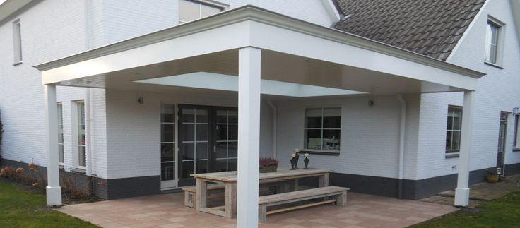 Veranda 39 s serres houten overkappingen lichtstraten tuinkamers garden pinterest veranda - Dak van pergola ...