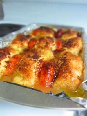 Sweet potato dumplings -comfort food at its best