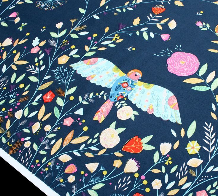 Dashwood Studio Flock FLOK 1301 Bird Panel
