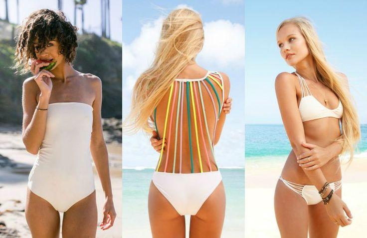 Ja dit zijn ze de mooiste witte bikin's voor je Honeymoon. Lekker genieten in de zon en er ook nog eens super glamoureus uitzien.
