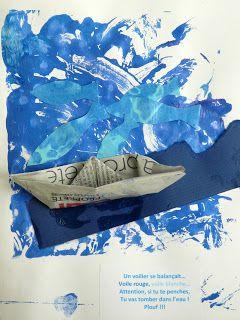 les petites têtes de l'art: Oh, mon bateau