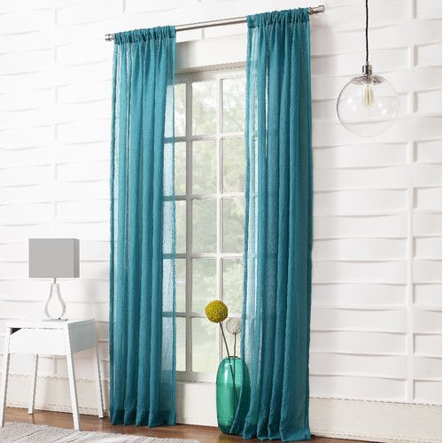 918 leland curtain panel u0026 reviews wayfair