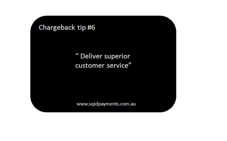 Chargeback tip #6