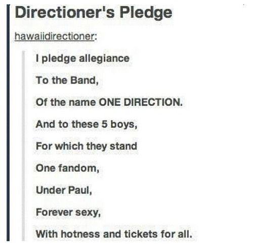 Now we have am official pledge