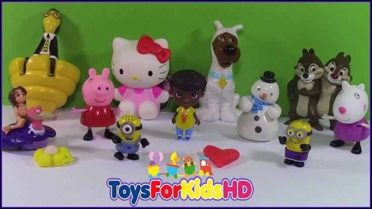 Surprise Cupcake - Surprice Toys - Play Doh Cupcake - Sorpresas en españ...