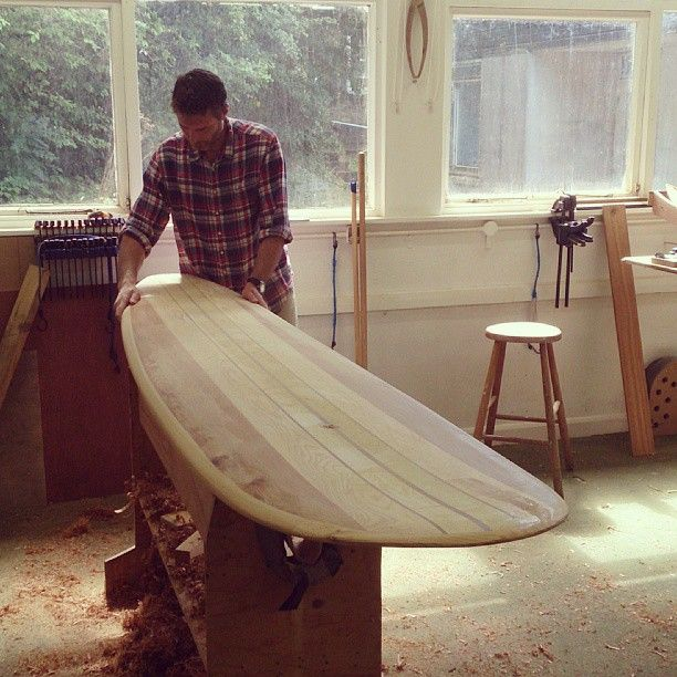 Otter Wooden Surfboards
