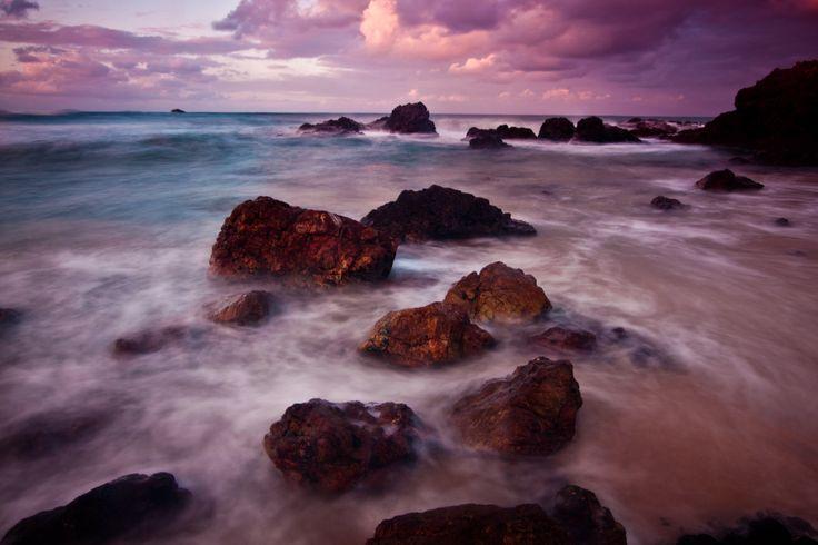 Nobbys Beach Sunset photo by Tyson Bruun