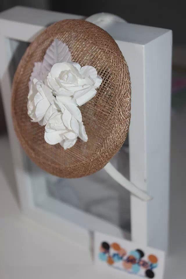 Diadema tocado flor