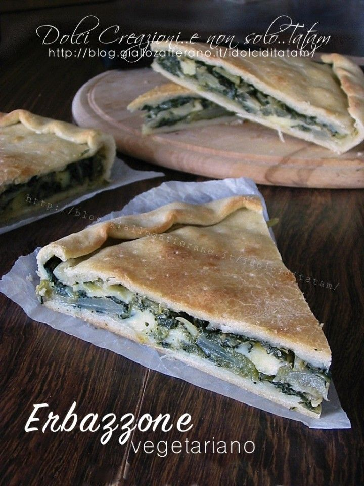 erbazzone without bacon / vegetarian
