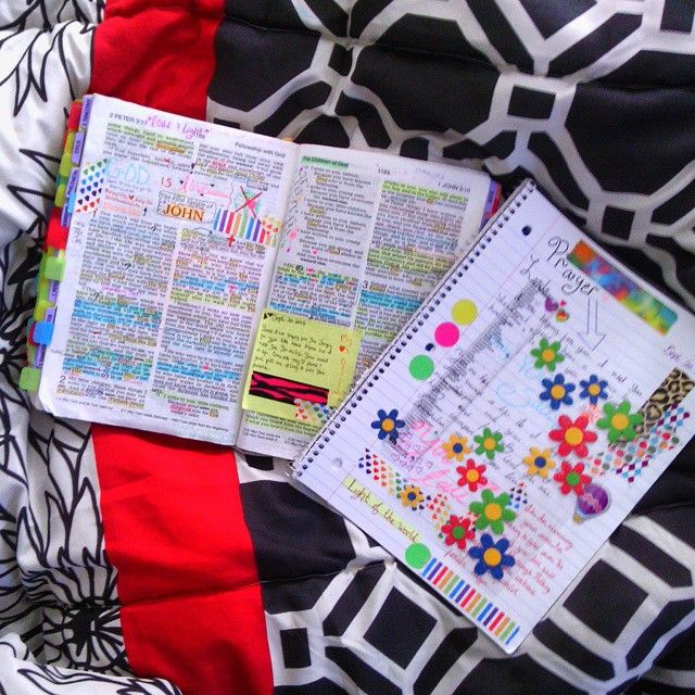 Scripture journaling. I absolutely love this! Its so very like me and what I do. Great example of happy loving journaling! Thanks :)
