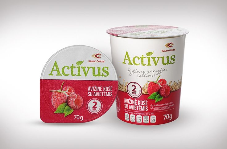 Packaging design & Branding services – ACTIVUS – Oatmeal Package Design