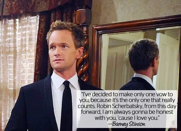 10 Legen—Wait for It—dary Love Quotes From 'How I Met Your Mother'