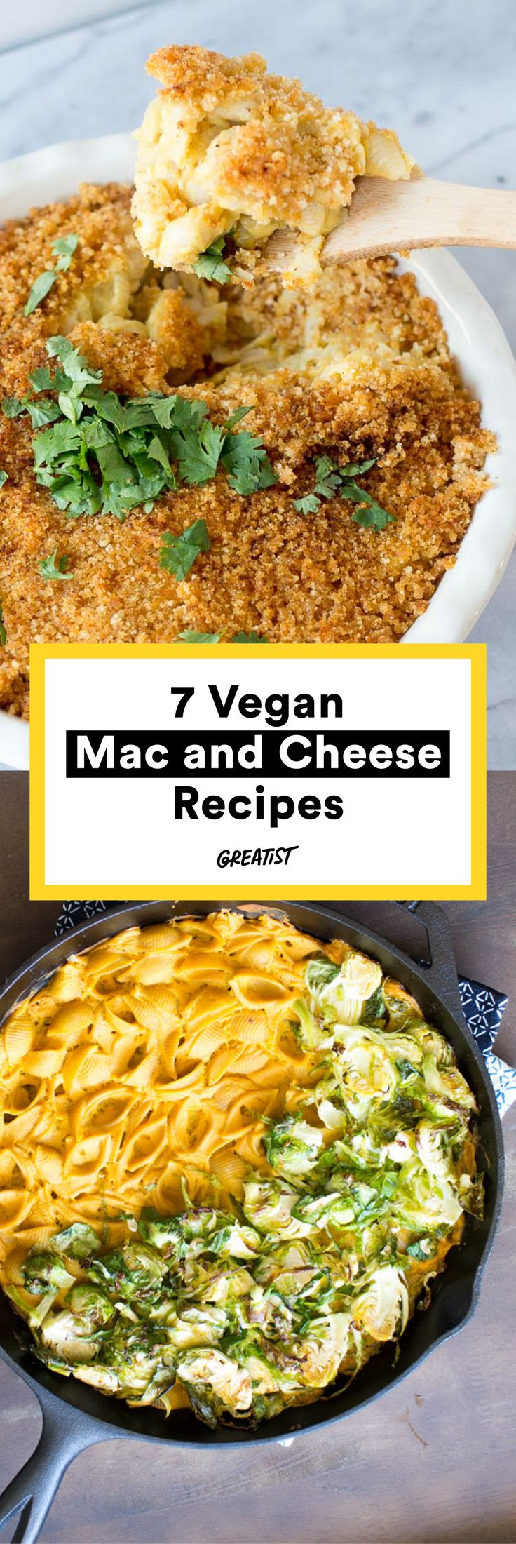 "This is the most perfect article written ever.  Say ""dairy-free cheese!"" #vegan #macandcheese #recipes http://greatist.com/eat/vegan-mac-and-cheese-recipes-for-your-dairy-free-friends"