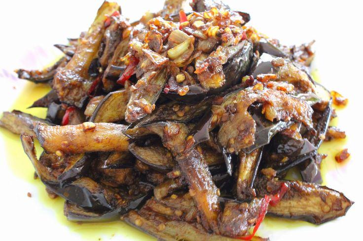 Spicy Eggplant Belacan (Shrimp Paste) Recipe | Adventures Of A Little Foodie