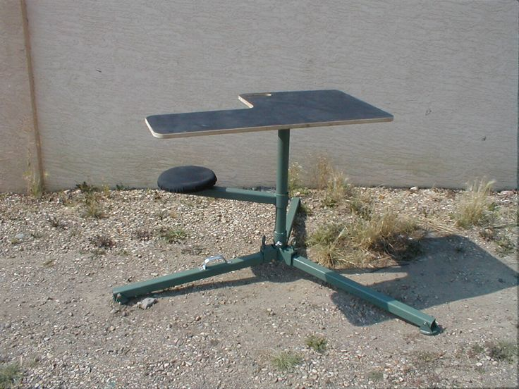 Best 25 Portable Shooting Bench Ideas On Pinterest Shooting Bench Plans Shooting Targets And