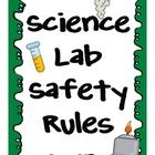 This packet includes posters to depict the most important safety rules students need to follow in the elementary science lab. Each rule is on 1 p...