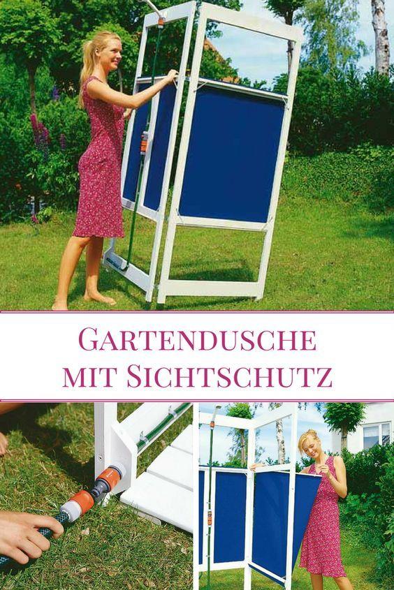 Gartendusche Mit Sichtschutz DIY And Crafts Garden, Outdoor ...