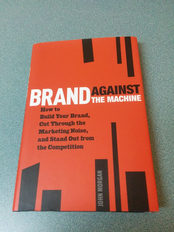 A different kind of book for the marketer in you