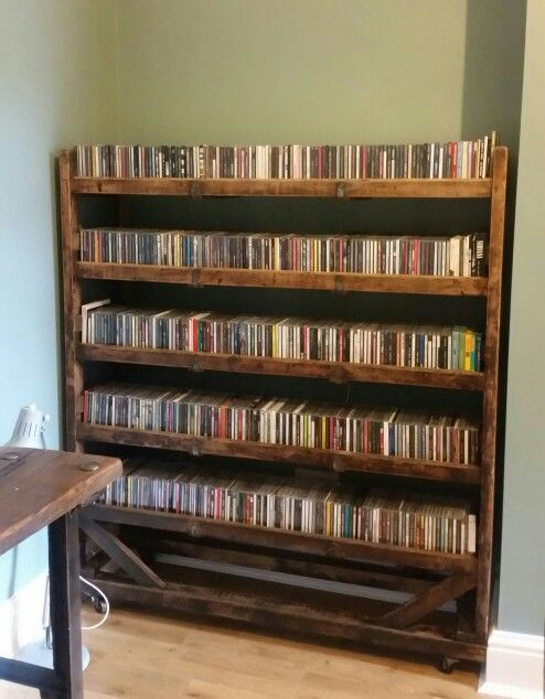 Best 25 Cd Shelf Ideas On Pinterest Diy Projects