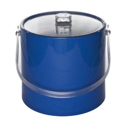 Mr. Ice Bucket 705-1 Regency 3-Quart Ice Bucket, Specter Blue