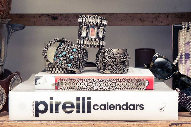Pireili Stack Up.Blue Clutches, Dannijo Cuffs, Cuffs Stacked, Coveteur, Coffe Tables Book, Danijo Cuffs, Book Collection, Amazing Piece, Finding Amazing