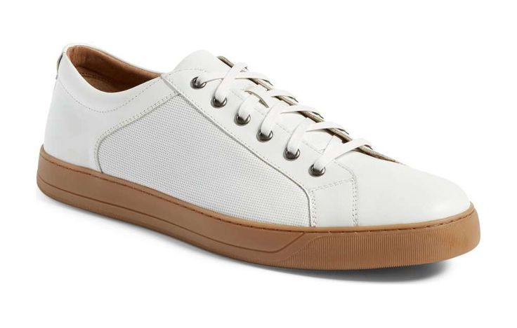 J&M Allister Sneaker http://www.menshealth.com/style/white-sneakers-for-men/slide/1