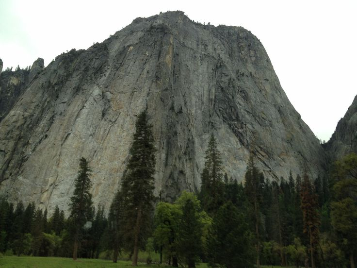 A hefty Yosemite mountain