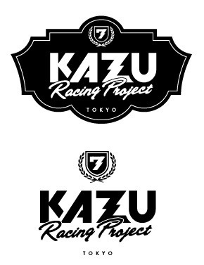 Logo Design  Kazu Racing Project Logo  増田一将選手 チームロゴ