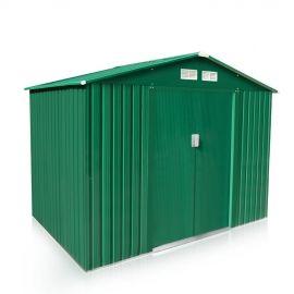 Il box casetta in lamiera LARGE è perfetto per tenere in ordine il tuo giardino. Questo prodotto, costruito in lamiera zincata e verniciata contro i raggi UV, è durevole e resistente nel tempo. Resiste alle intemperie ed è perfetto come ripostiglio da ...