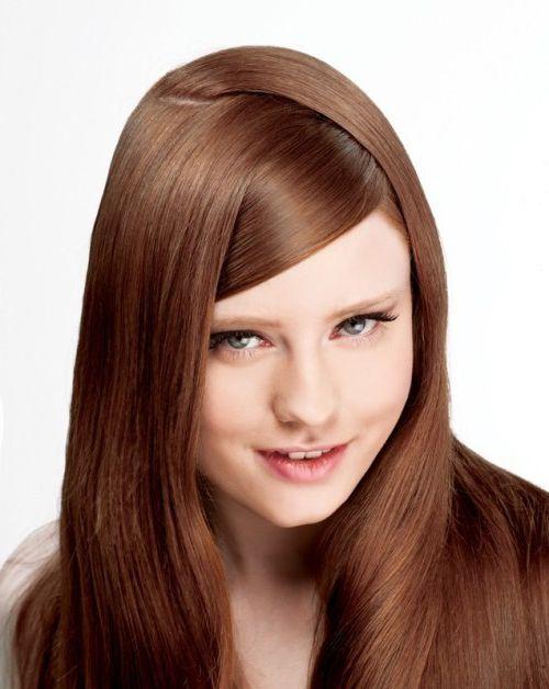 20 Stunning Vibrant Hues for Chocolate Brown Hair  #HairColors