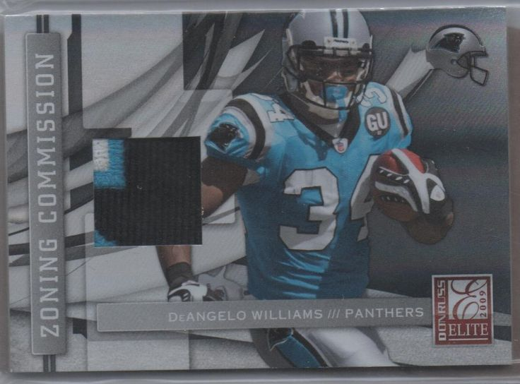 Mailday! 2009 Elite DeAngelo Williams patch #49/50. Perfect timing for Panthers-Bucs game tonight.