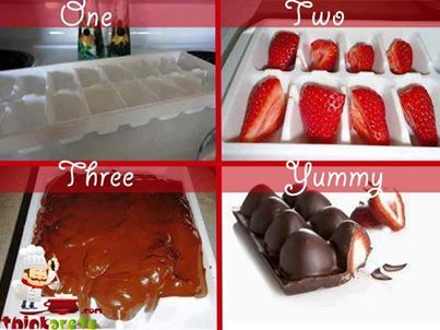 Chocolate Strawberry Bar EASY AS CAN BE and such a DELIGHT to Bite into. Great For Mothers-day