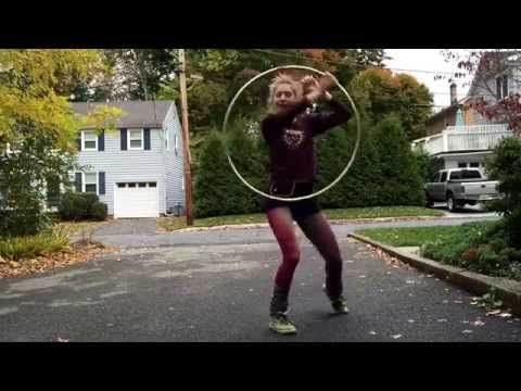 air jordan 1 mid black gym red white trap down Hula hoop dance   YouTube