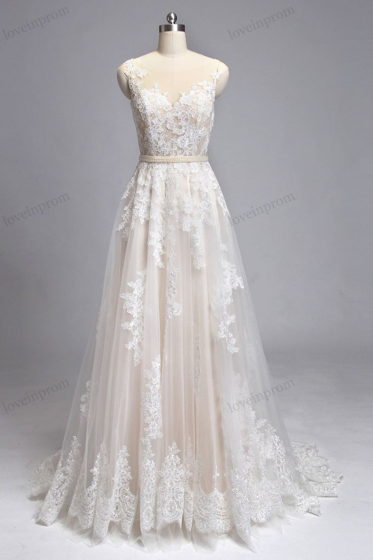 17 Best ideas about Ivory Wedding Gowns on Pinterest ...