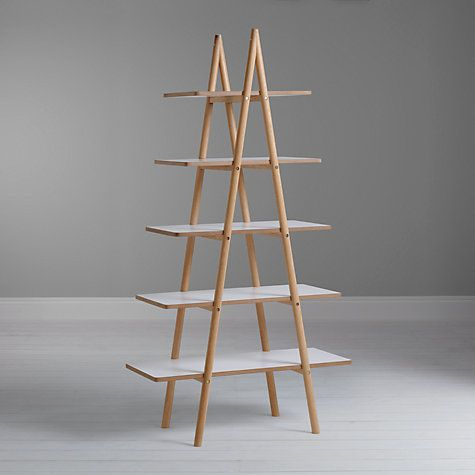 Buy Says Who For John Lewis Why Wood A Ladder Bookshelf Online At