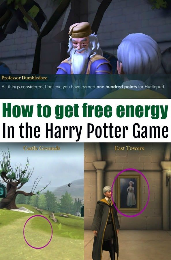 How To Get Free Energy In The Harry Potter Mystery Game Harry Potter Games Harry Potter Rpg Harry Potter Magic