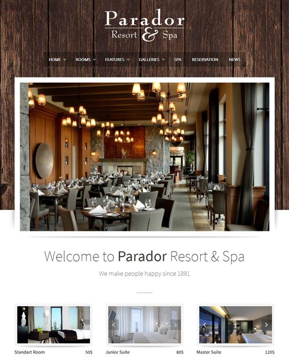 Best more of the hotel wordpress themes images