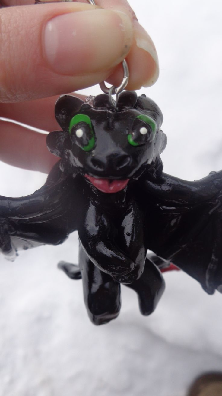 Toothless  https://www.facebook.com/pages/ZAs-Clay-Critters/266554163544718