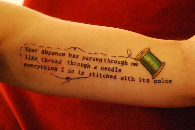 Beautiful. Memorial tattoo