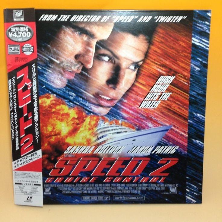 Speed 2: Cruise Control (1997) PILF-2522 LaserDisc LD NTSC w/OBI Japan EA001