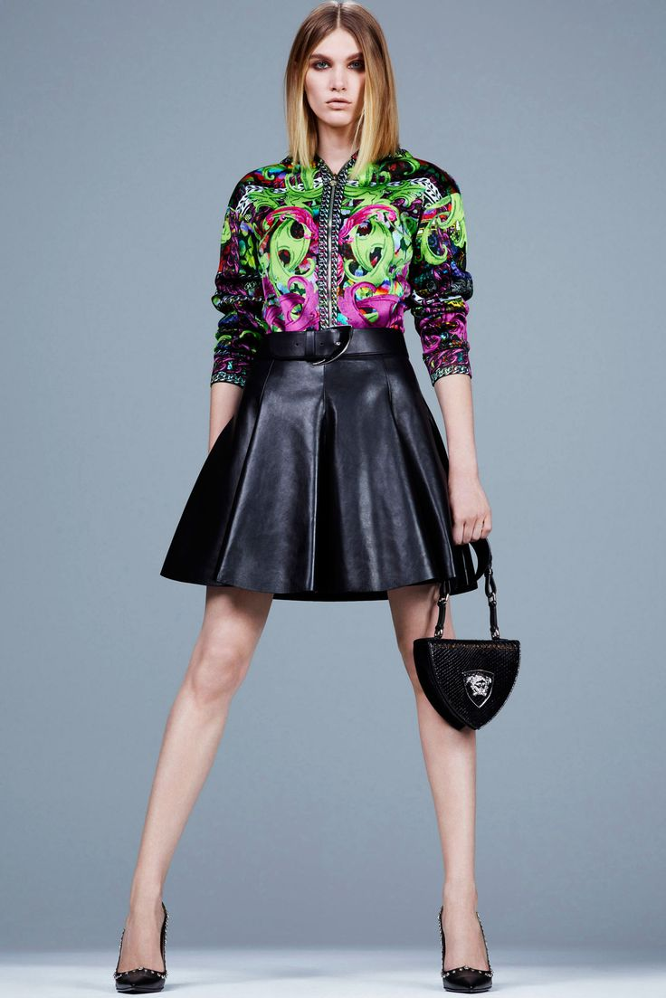 Versace | Pre-Fall 2014 Collection | Style.com
