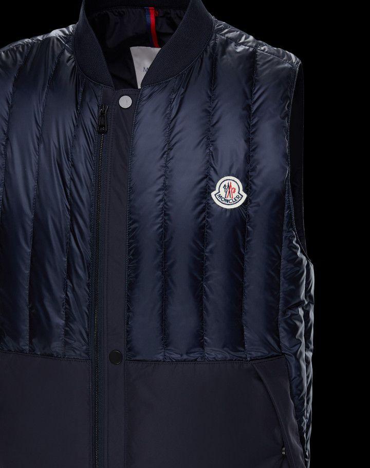 MONCLER DOUBS - Waistcoats - men   amr   Moncler, Waistcoat men, Golf 0d8016d52b3