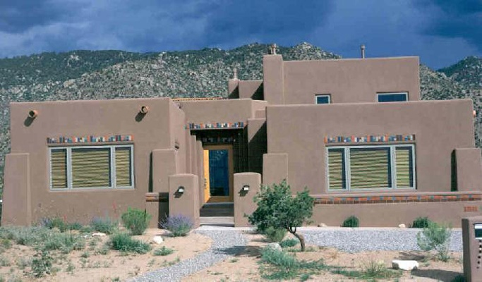 145 best pueblo style homes images on pinterest for Pueblo home builders